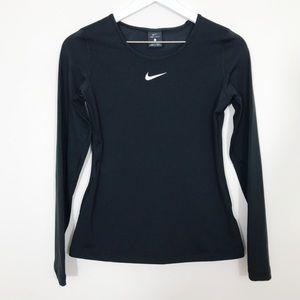 Nike l Dri Fit Waffle Knit Running Shirt